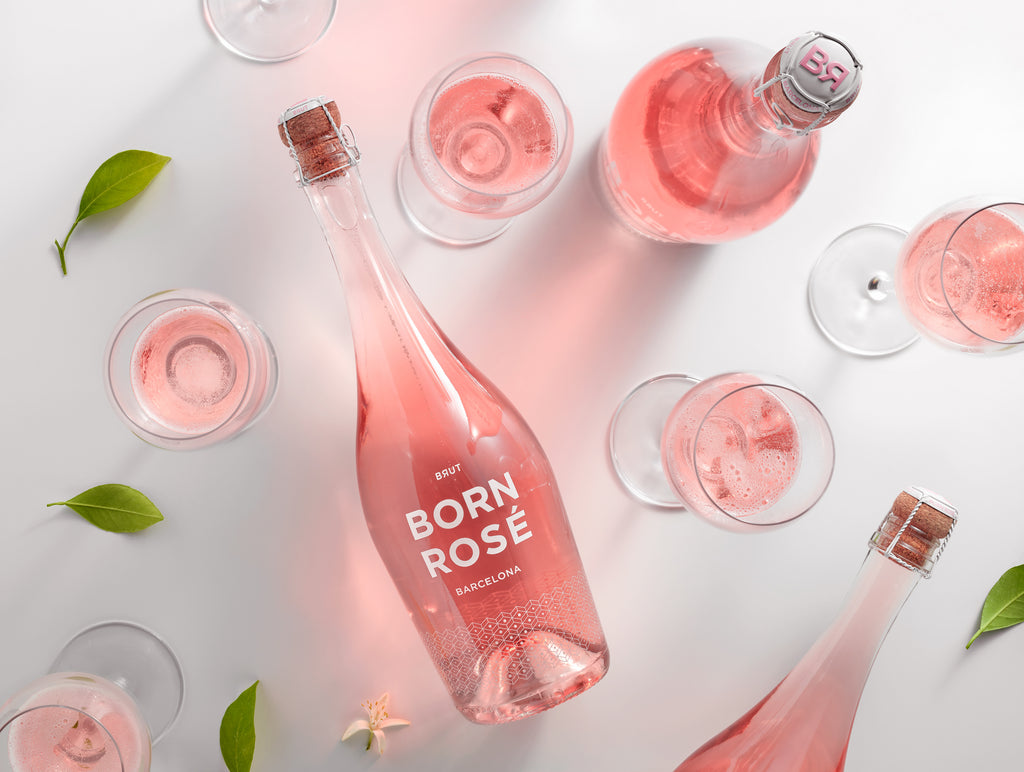Our first sparkling wine, BORN ROSÉ Brut