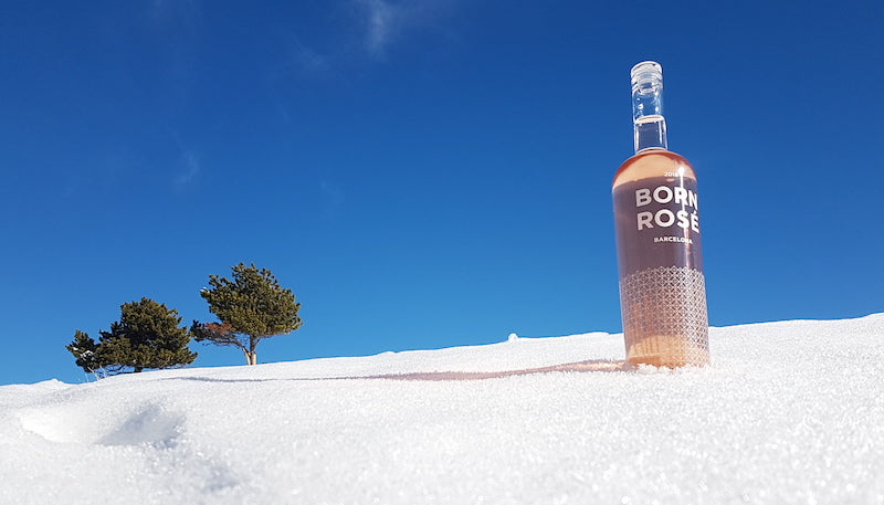 BORN ROSÉ is a hit on the ski slopes