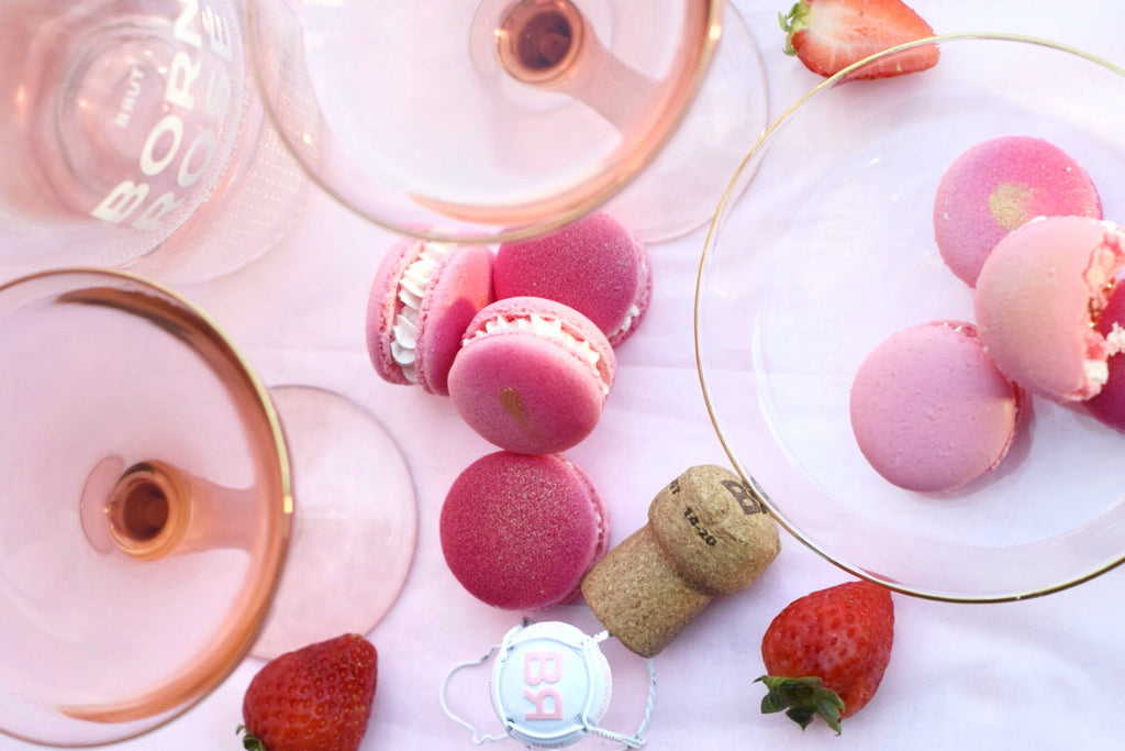 The BORN ROSÉ Macarons Recipe, Exclusively Created by Chef Andrea Vicens
