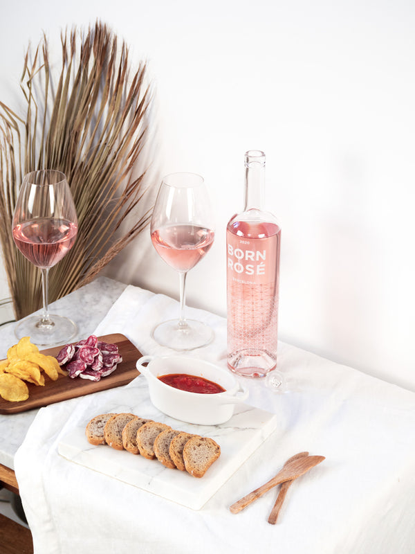 3 bottles of ROSÉ (Organic 2020) + gift: coasters