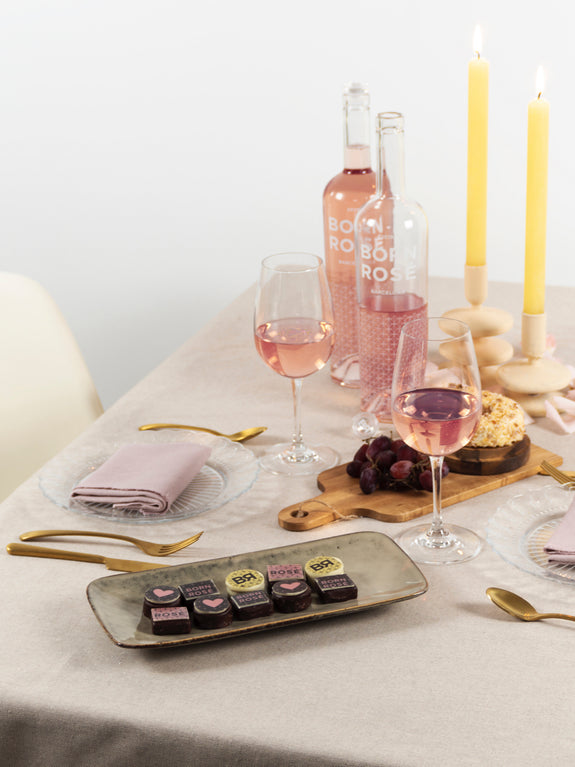 PACK CHOCOLOVERS: Rosé, Brut & BR Chocolates