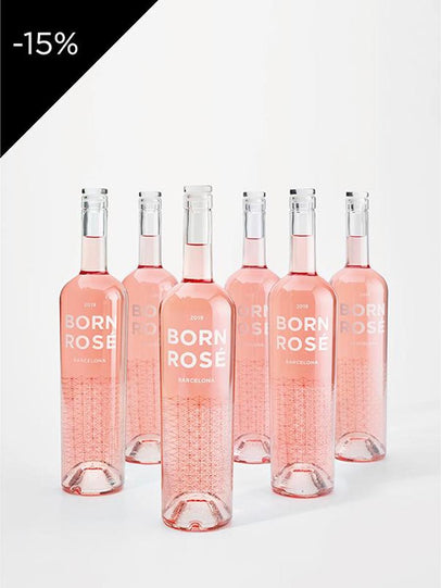 6 bottles of ROSÉ Original 2019 + gift: coasters