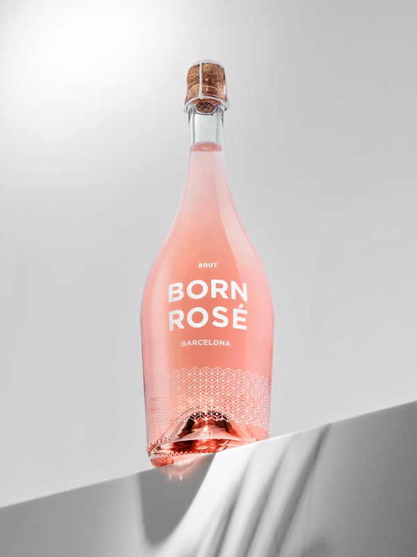 1 bottle of BORN ROSÉ BRUT Organic + gift: bottle cap