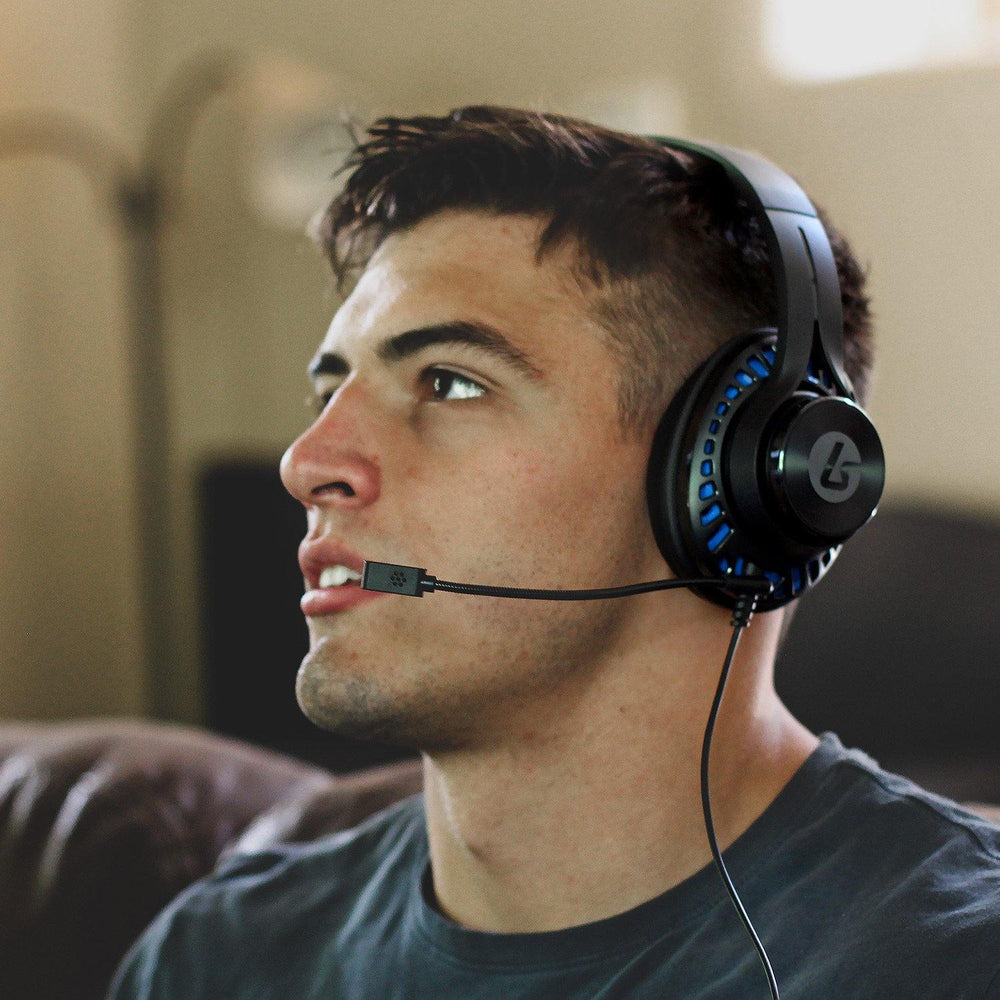 LS1P Premium Chat Headset for PS4