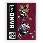 Colorado Avalanche sticker pack - ALMOST GONE - DNVR Sports