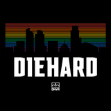 Rainbow Diehard Black shirt - DNVR Sports