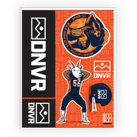Broncos sticker pack - DNVR Locker