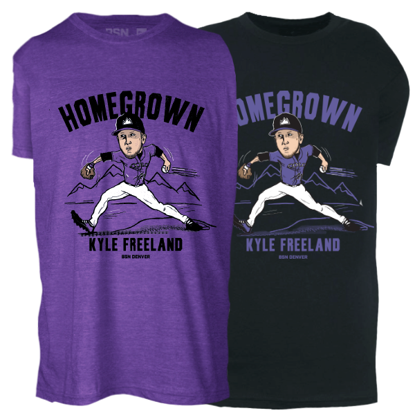 Officially licensed Kyle Freeland shirt - DNVR Sports
