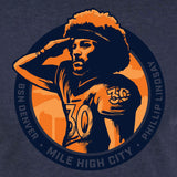 Phillip Lindsay Mile High Salute shirt - DNVR Locker