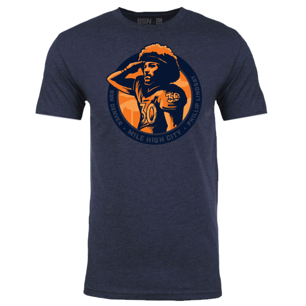 Phillip Lindsay Mile High Salute shirt - DNVR Sports