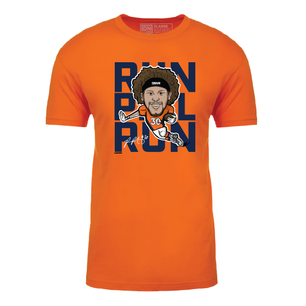 Officially licensed Run Phil Run shirt - DNVR Locker