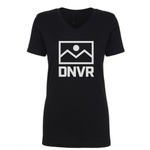 DNVR Ladies Cut V-Neck Flag Stack - DNVR Locker