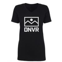DNVR Ladies Cut V-neck Flag Stack - DNVR Sports