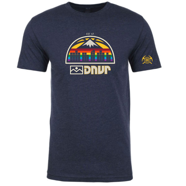 Nuggets Mile High City shirt - DNVR Sports