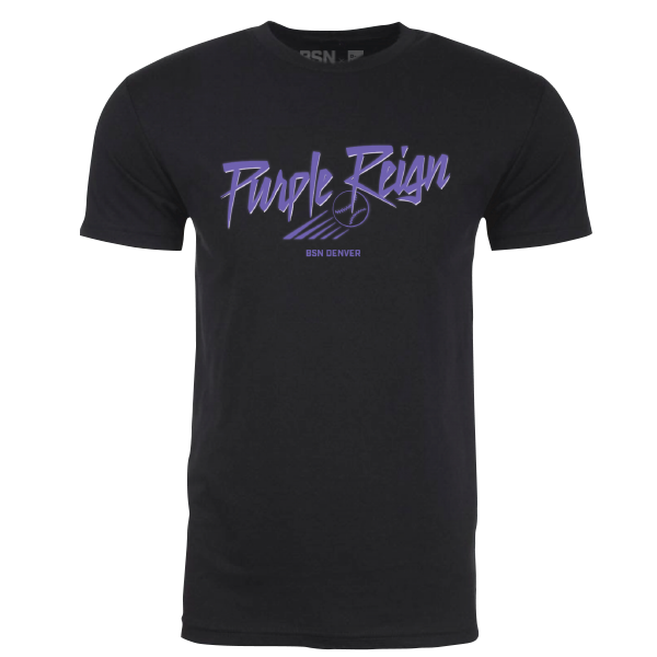 Rockies Purple Reign Shirt - DNVR Sports