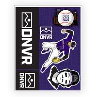 Rockies sticker pack - DNVR Sports