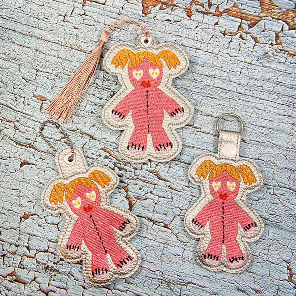 Sally Voodoo Doll Bookmark