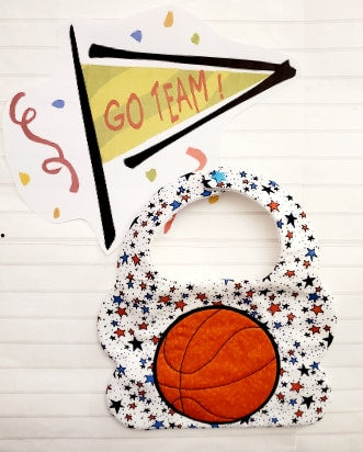Basketball Bib 2 Sizes!!!