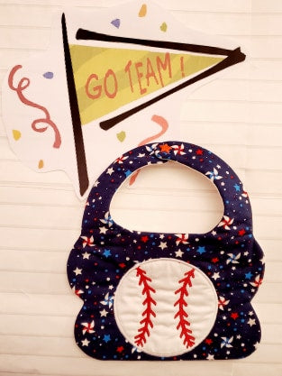Baseball Bib 2 Sizes!!!