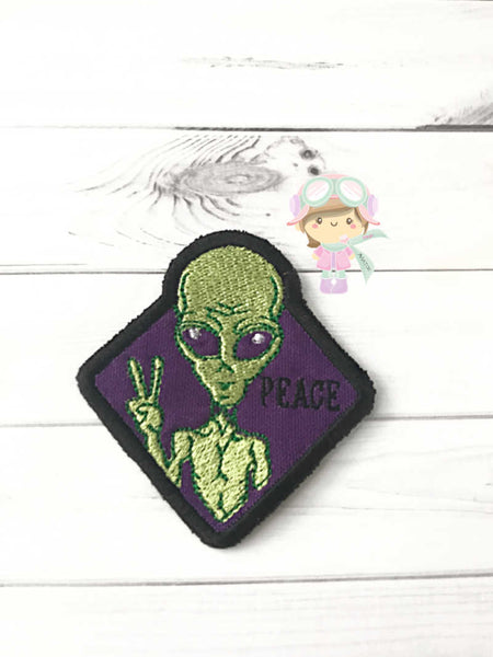 Peace Alien Patch