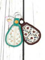 Applique Snaptab and Eyelet