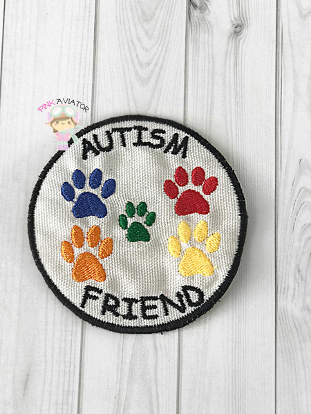 Autism Friend Patch