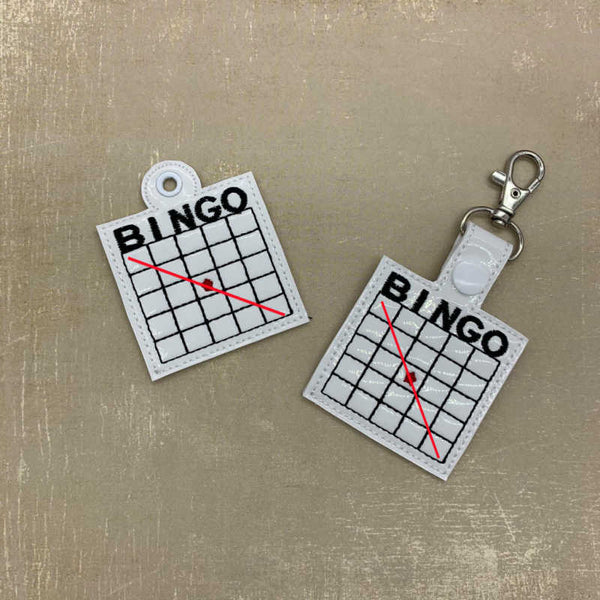 Bingo Snaptab and Eyelet