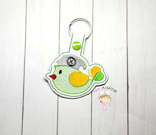 Button Bird Snaptab and Eyelet