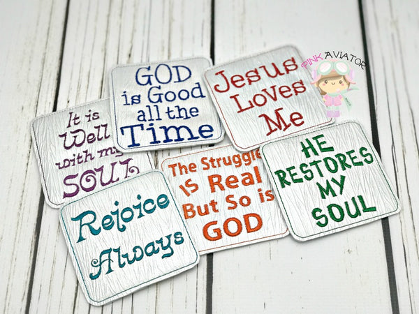 Blessing Coasters 2