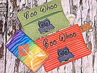 Boo Whoo Owl Tissue Holder