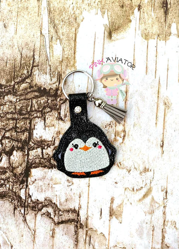 Buddy Penguin Snaptab and Eyelet