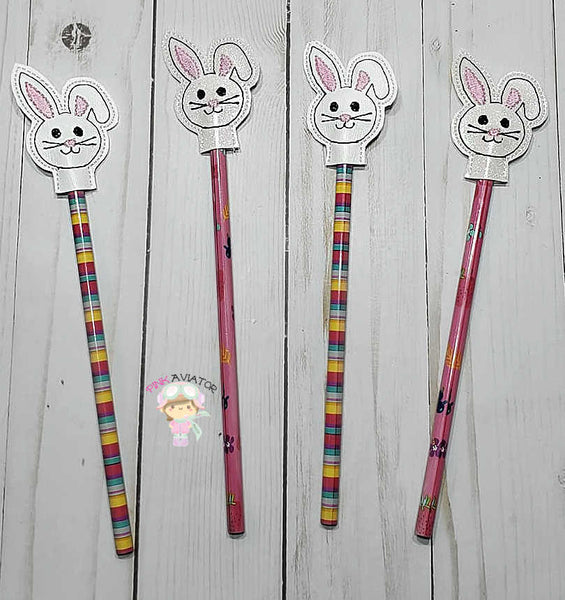 Bunny Rabbit Pencil Topper