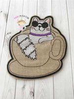 Cat N Cup Coaster 2 SIZES!!!!!!