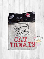 3x4 Cat Treat Bag