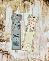 Cat With Glasses  Bookmark