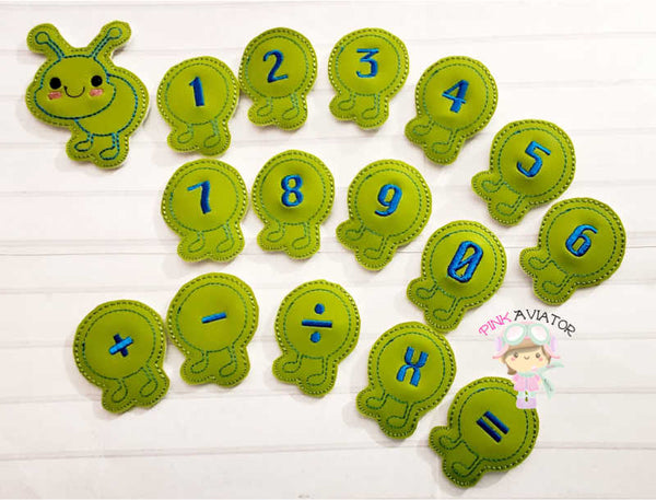 Caterpillar Number/Math Set