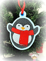 Christmas Penguin Ornament 2