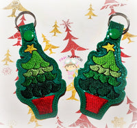 Christmas Tree Snaptab and Eyelet