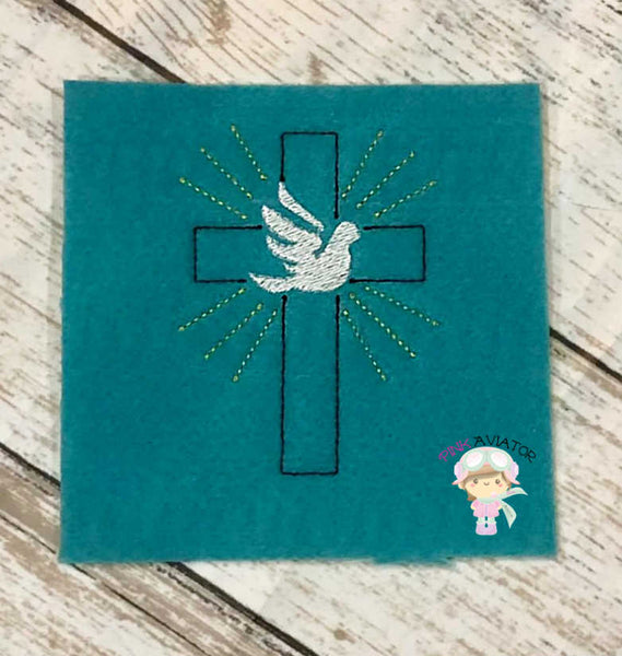Dove Cross Design 2 SIZES!!!