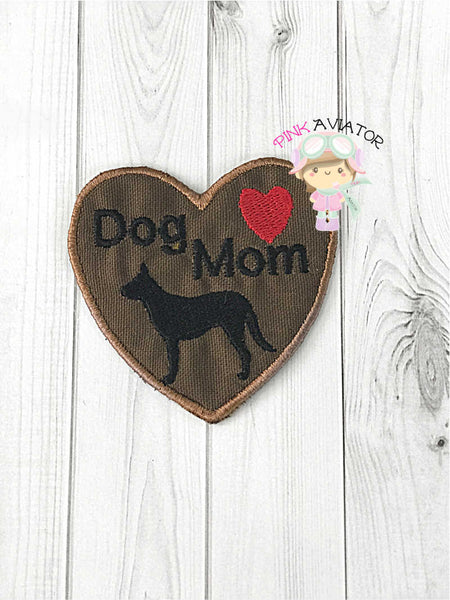 Dog Mom Patch