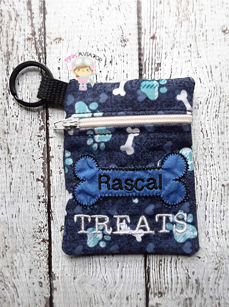 3x4 Dog Treat Bag