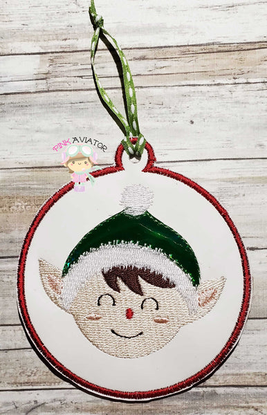 Elf Ornament