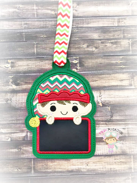 Elf Name Ornament