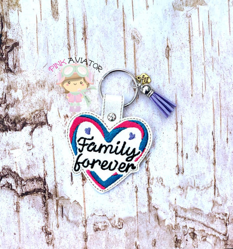 Family Forever Snaptab and Eyelet