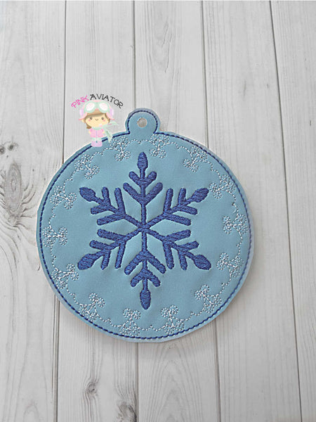 Fancy Snowflake Ornament