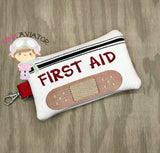 First Aid Zipper Bags