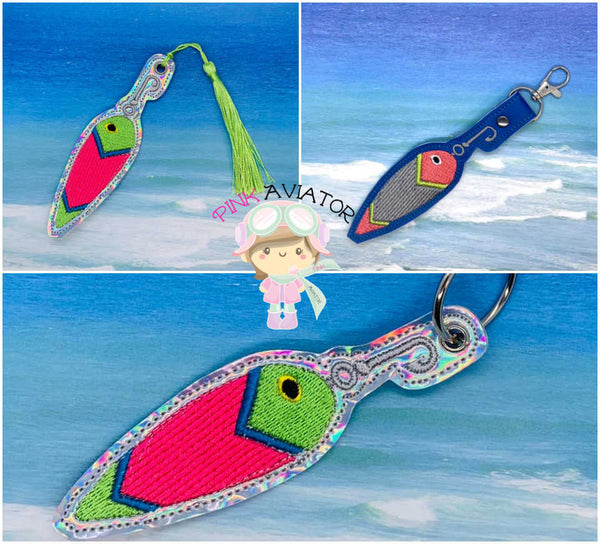 Fishing Lure Snpatab and Eyelet