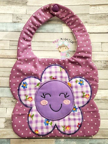 Flower Face Bib 2 Sizes