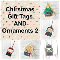 Christmas Gift Tag Set 2