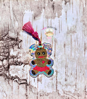 Girl Voodoo Doll Bookmark